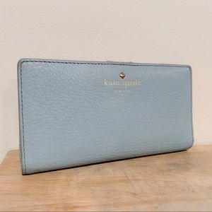 Kate Spade New York Slim Bifold Wallet Blue